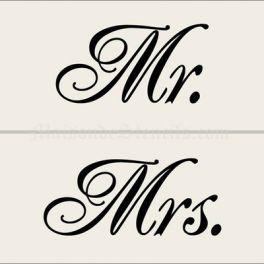 Mr mrs stencil home wedding mr and mrs stencils french mr mrs stencil home wedding mr and mrs stencils spiritdancerdesigns Image collections