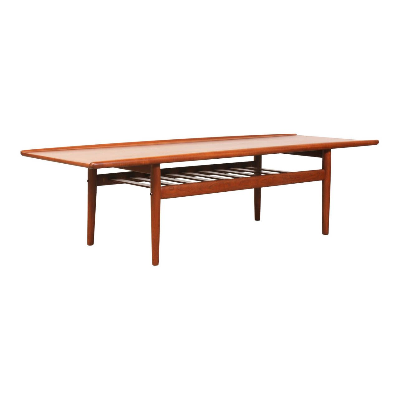 Grete Jalk Teak Coffee Table For Glostrup Mobelfabrik Image 3 Coffee Table Table Teak Coffee Table [ 1280 x 1280 Pixel ]