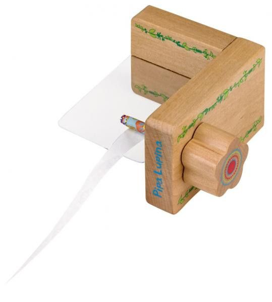 Papier Perlen Maschine zum Selbermachen Holz von creativhochzwei auf DaWanda.com