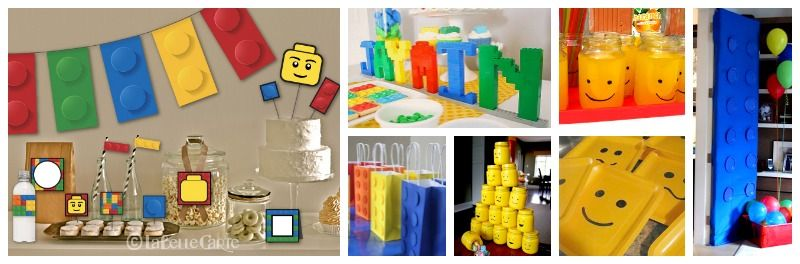 LEGO PARTY GUIDE – Lego Land Here We Come! Lego birthday party decor ...