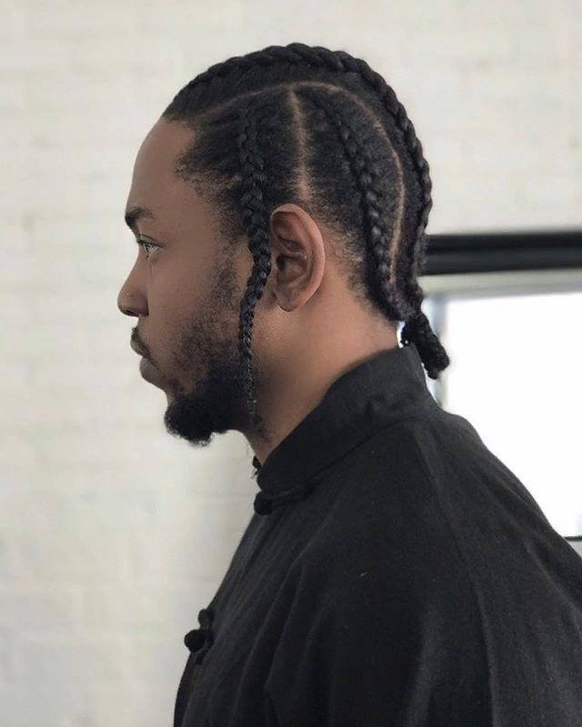 Pin By Sabine Kamaian On Kendrick Lamar Cornrow Hairstyles For Men Hair Twists Black Cool Braid Hairstyles