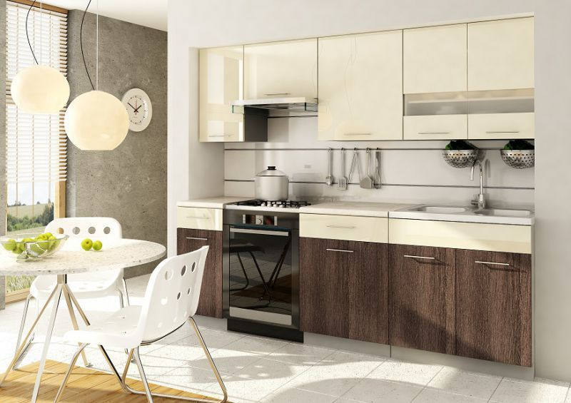 Singiel Szafki Kuchenne Zestaw Mebli Do Kuchni W Polysku Kitchen Home Decor Kitchen Cabinets