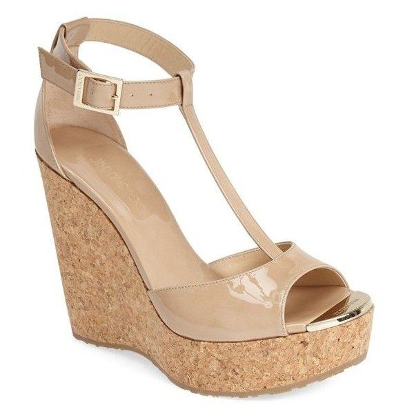 women s jimmy choo pela cork wedge sandal 11 028 600 vnd rh pinterest com