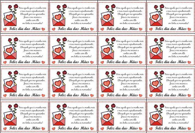 30 Cartoes De Dia Das Maes Para Imprimir 30 Modelos De Cartao De