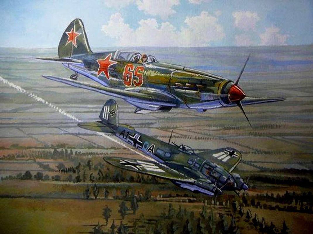 Авиация второй мировой войны в картинках