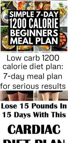 Weight loss has never been easier with our low carb 1200 calorie diet plan Weve got a list of the foods to eat  and avoid  and a sample 7day meal plan Cardiac diet plan t...