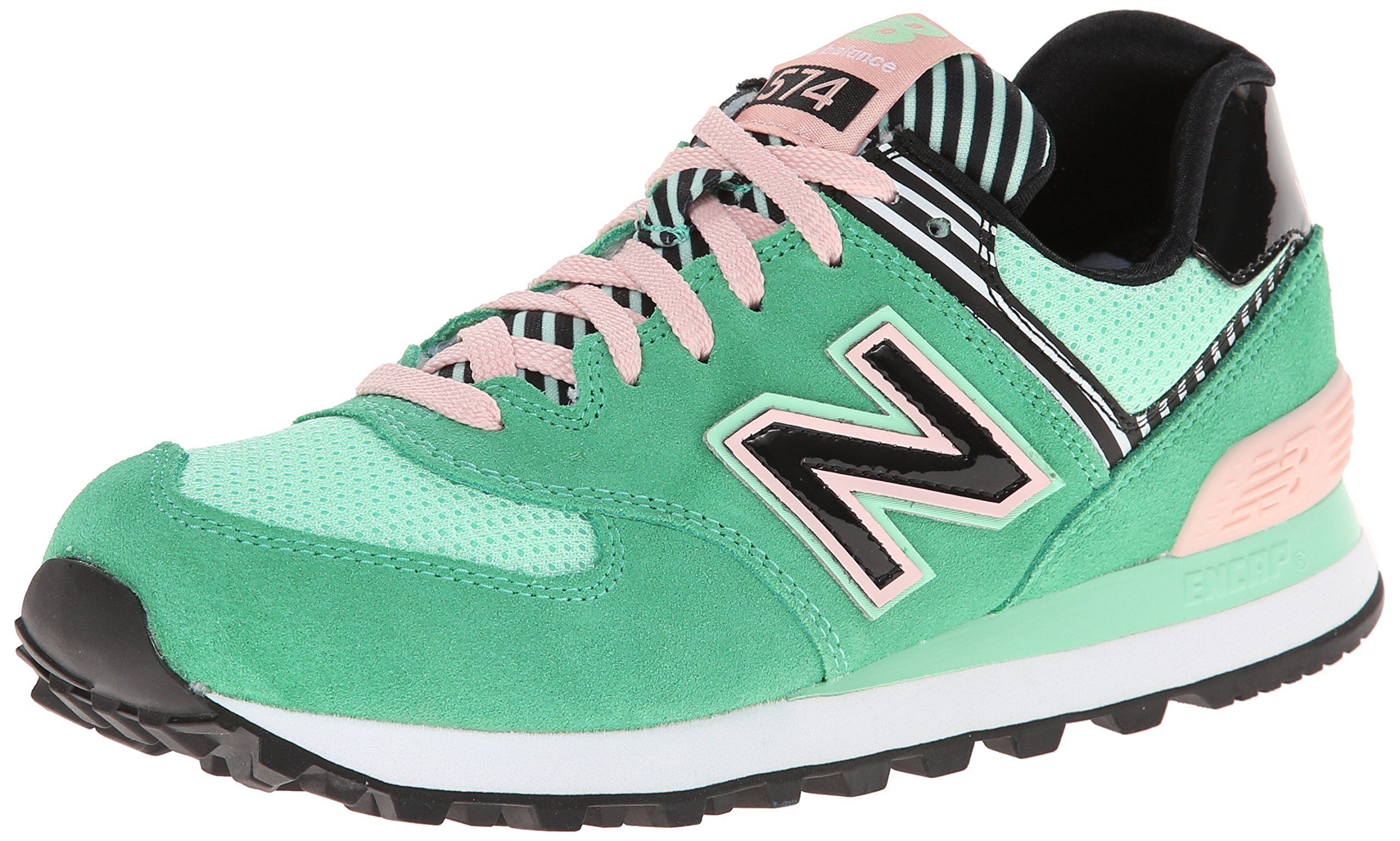 Amazon.com: New Balance Women's WL574 Palm Springs ...