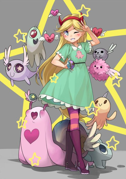 """Star Vs The Forces Of Evil - """"I think that Earth is a pretty great place... That's saying something 'cause I've been through outer space!"""""""
