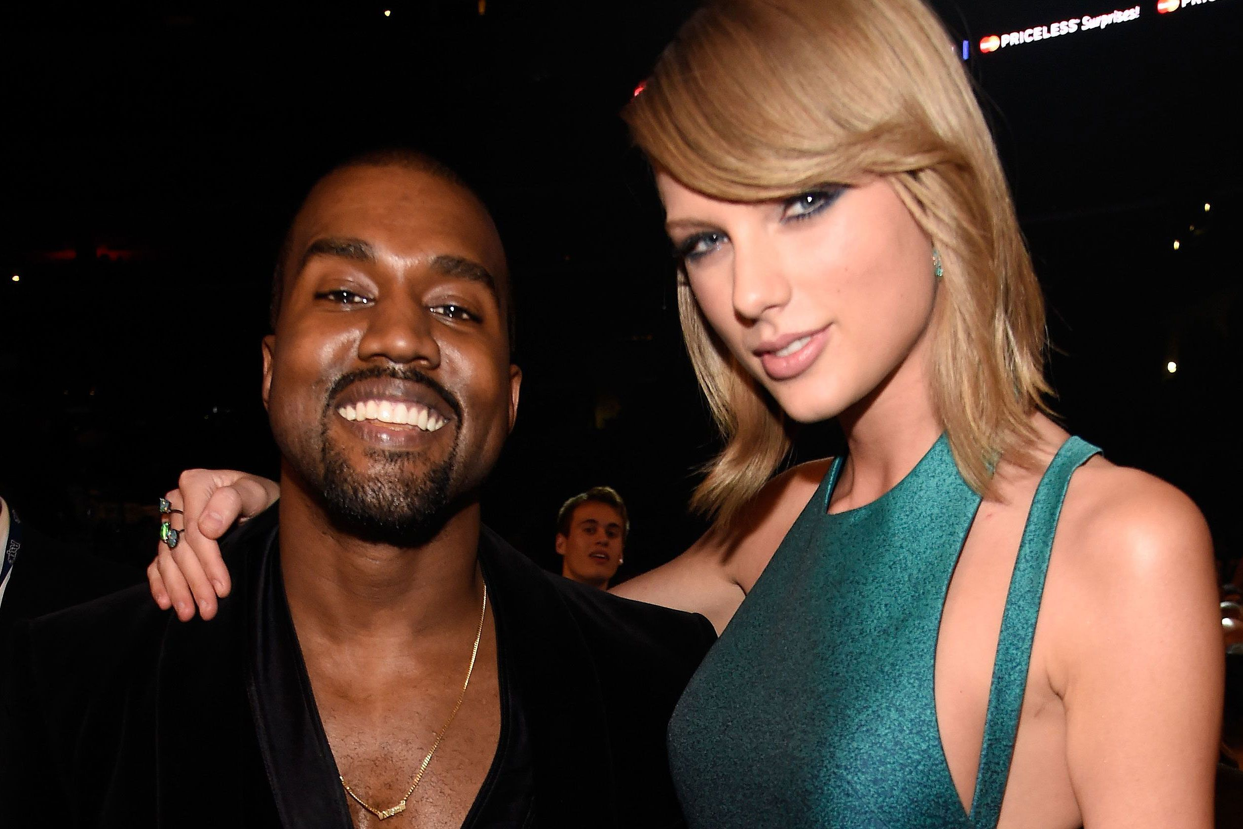 Kim Kardashian Posts Snapchat Of Kanye West Getting Taylor Swift S Approval For Famous Taylor Swift Kanye West Taylor Swift Album Kanye West And Kim