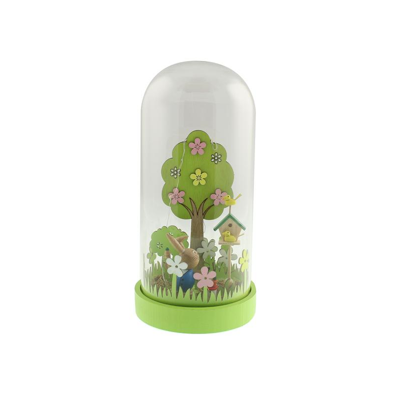 Led glass dome easter garden easter gifts pinterest glass led glass dome easter garden negle Images