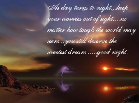 Good Night Poems For Friends 6