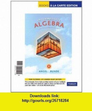 Intermediate algebra for college students a la carte edition 8th book libri intermediate algebra for college students a la carte edition 8th edition 9780321692498 fandeluxe Choice Image