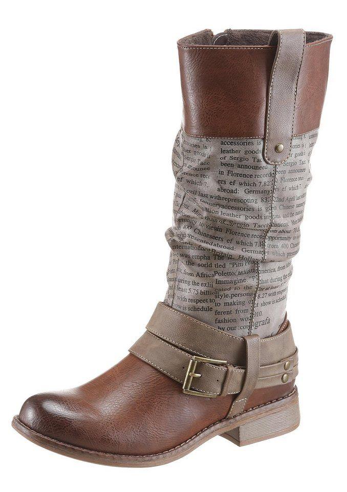 Rieker Stiefel mit Stretch Schaft, Praktischer Innen iHDZG