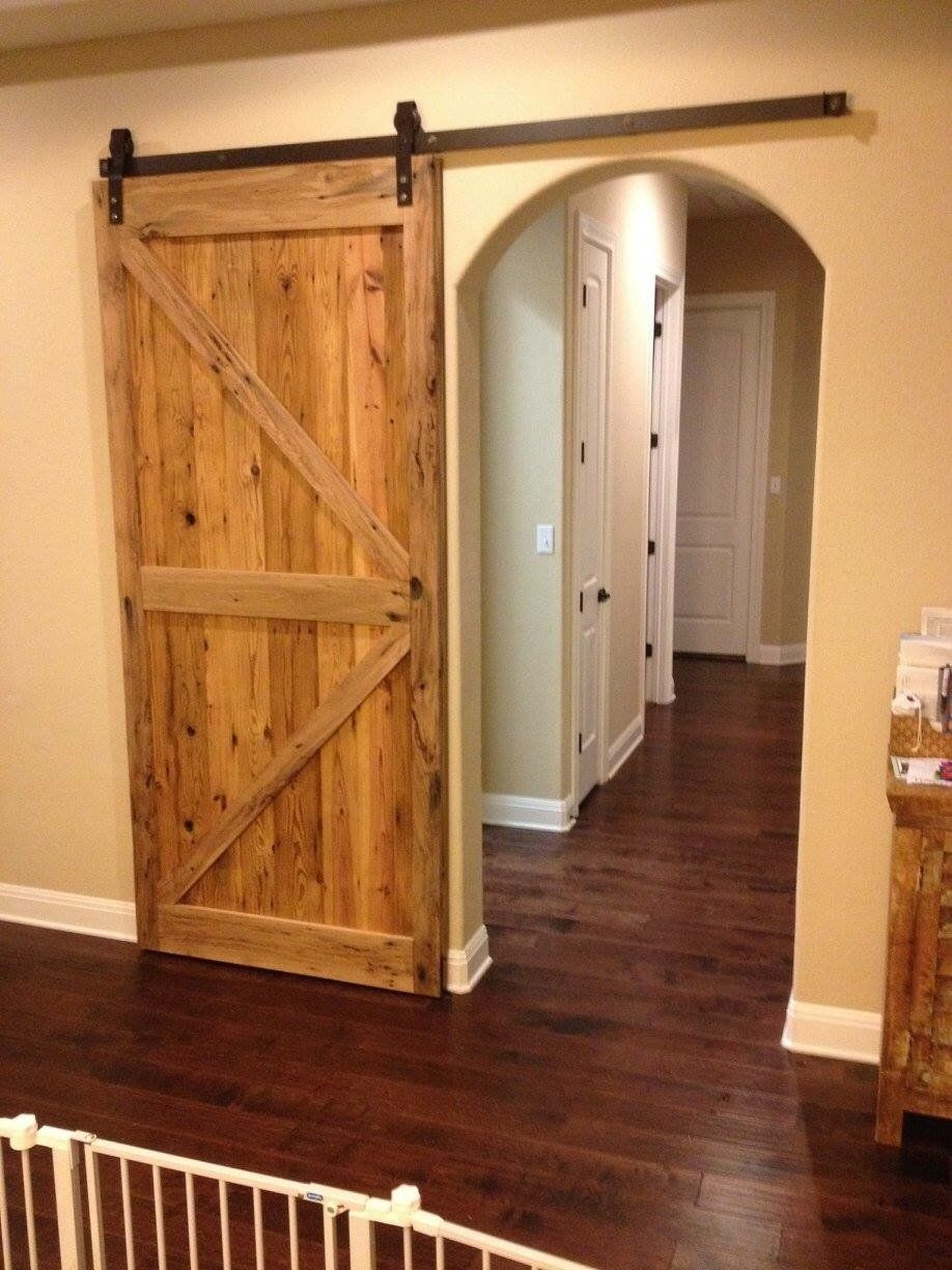 Custom Interior Barn Doors Made To Order With Your Style And Wood Choices.  All Doors