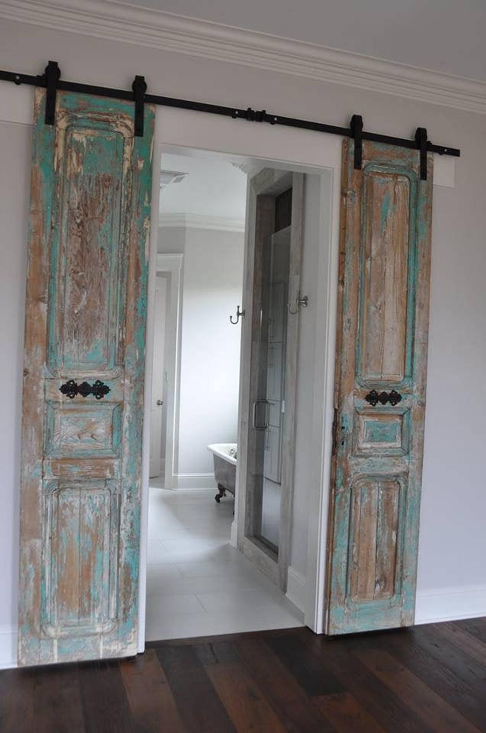 Vintage Door Replica Vintage Doors Barn Door Barn Doors Custom Made By Foo Foo La La Sold Individually Jean Vintage Doors Interior Barn Doors Sliding Barn Door Hardware