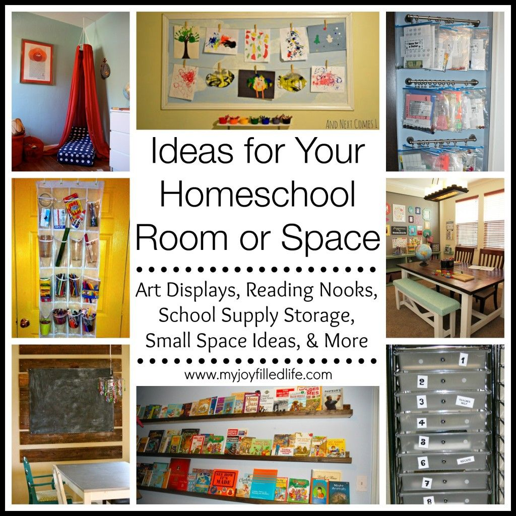 Ideas For Your Homeschool Room Or Space