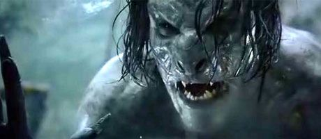 hybrid vampire werewolf from underworld special effect