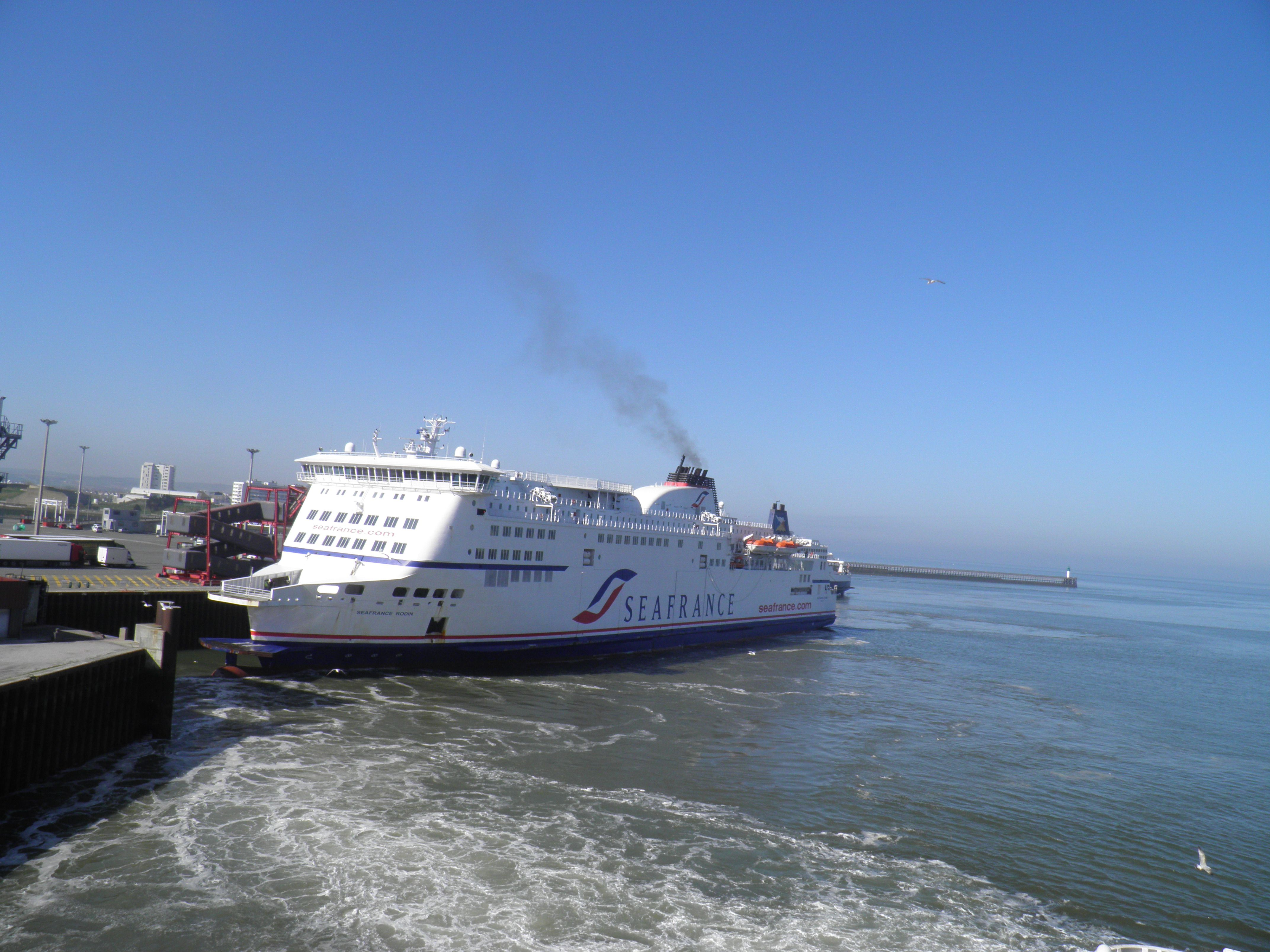 Eurotunnel Freight Sailing Dover Ferry