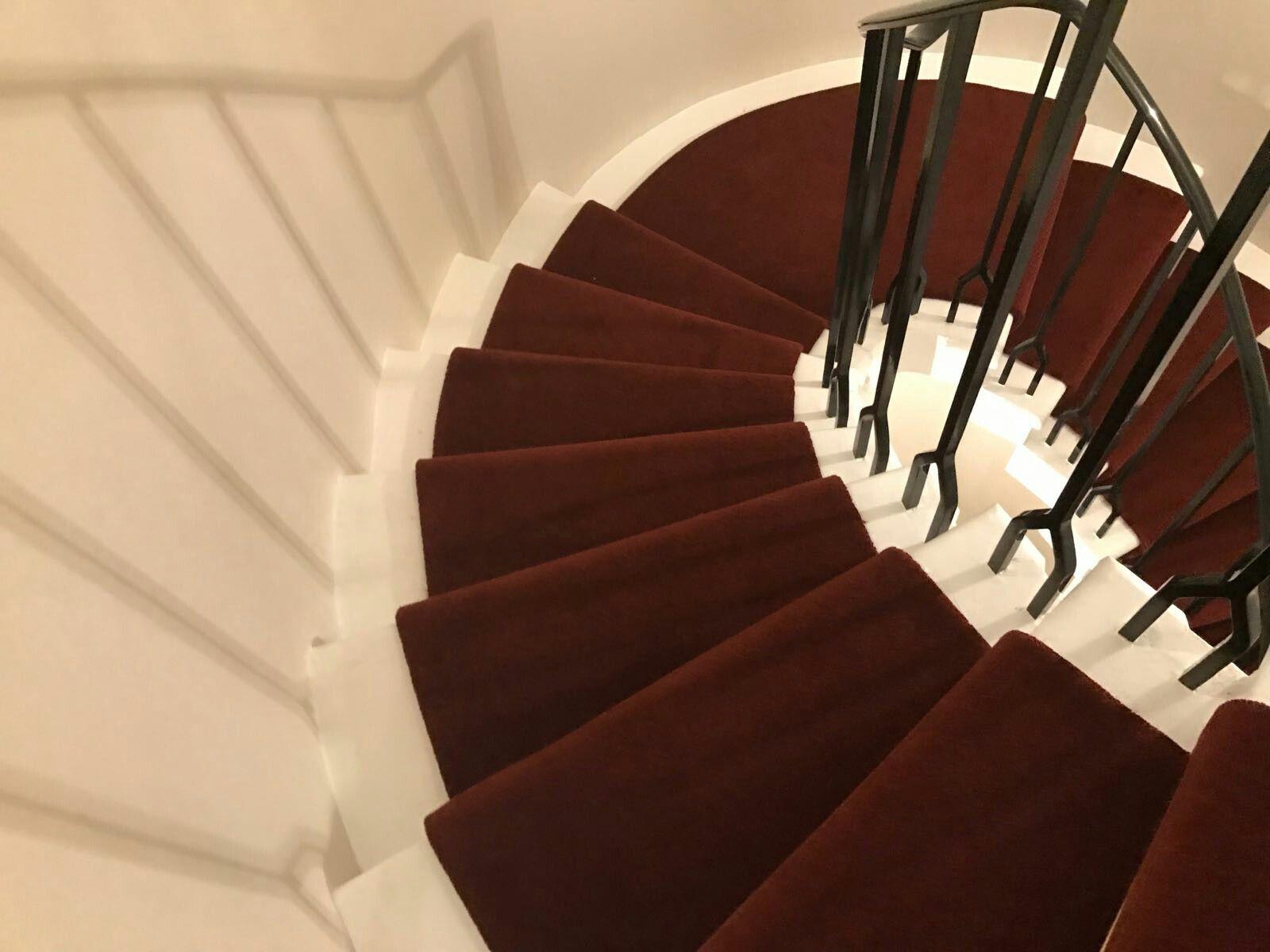Best New Red Stair Runner On Spiral Staircase Carpet Runner 640 x 480