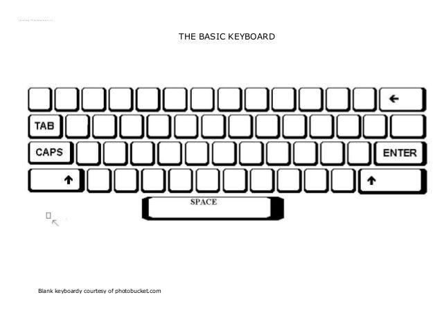 Worksheets For Typing Practice – Blank Keyboard Worksheet