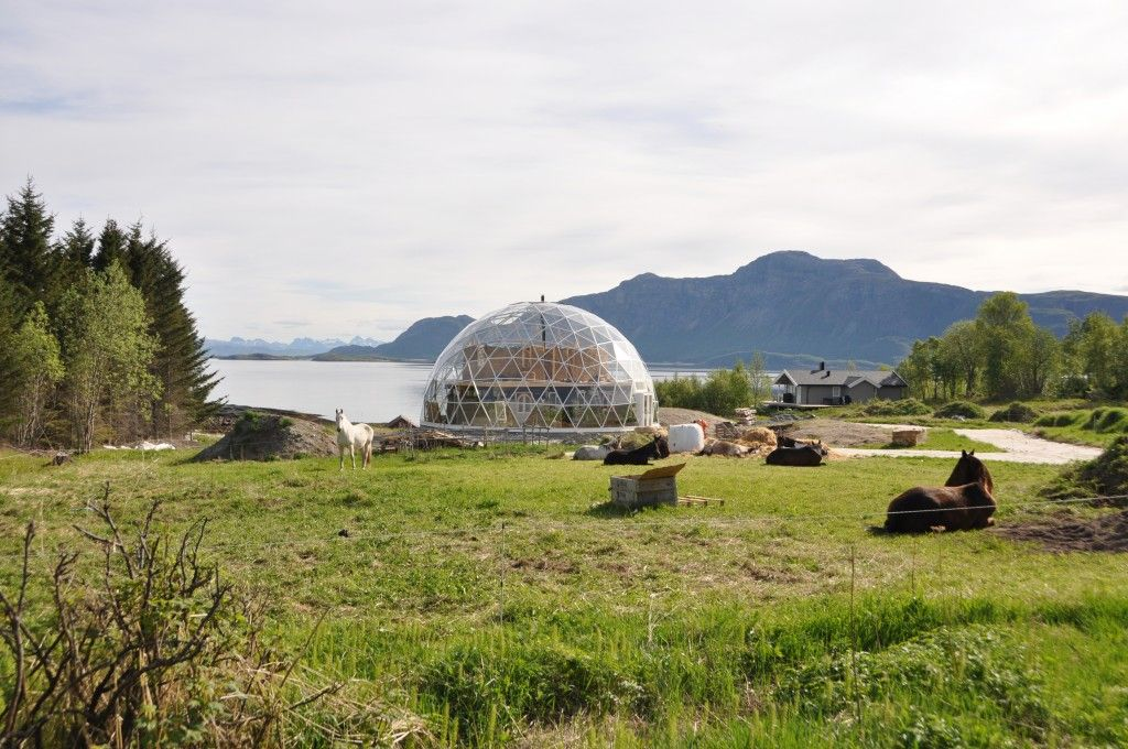 SOLARDOME PRO house cover, Norway