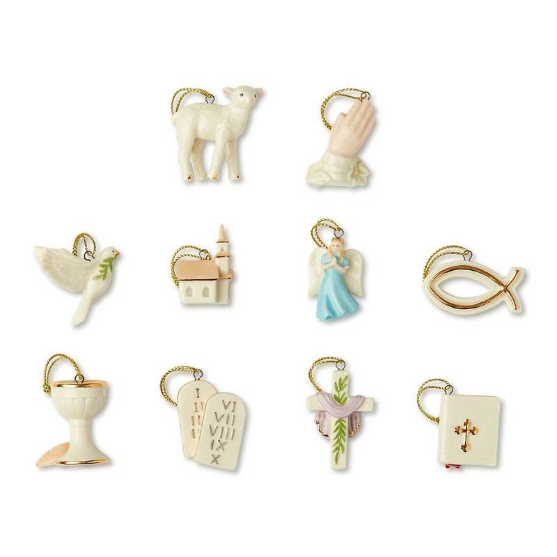 Faithful 10-Piece Ornament Set