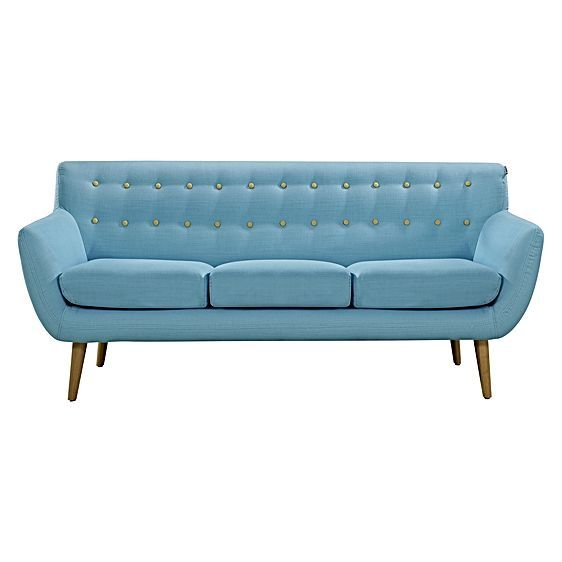 Style Your Living Space Retro Chic With The 6ixty 3 Seater Sofa From Line  DESIGN.