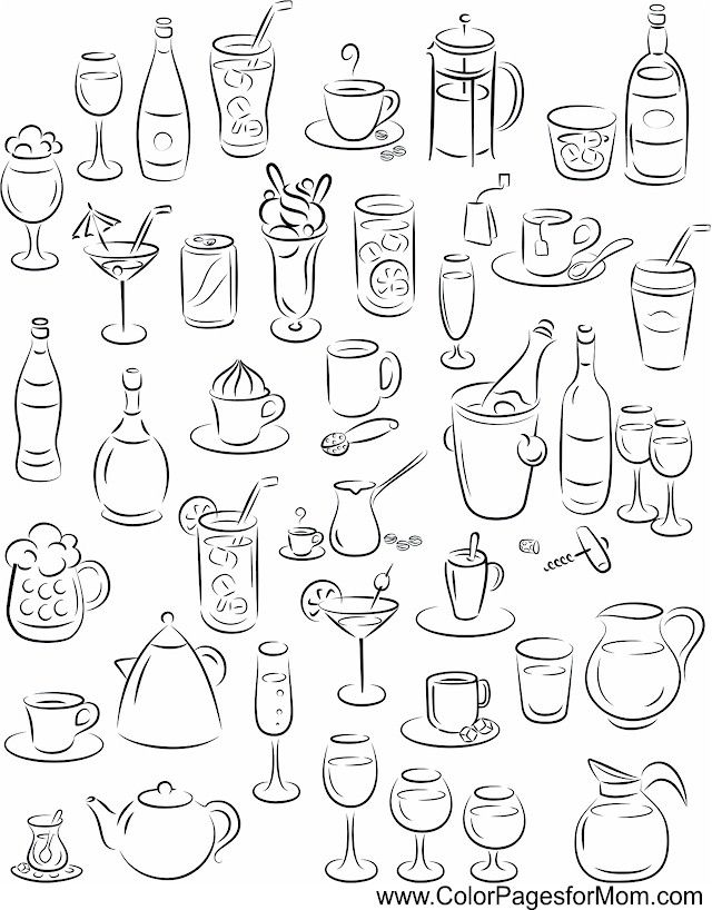 Advanced Coloring Pages Coffee Coloring Page 52 Bullet Journal Doodles Journal Doodles Doodle Lettering