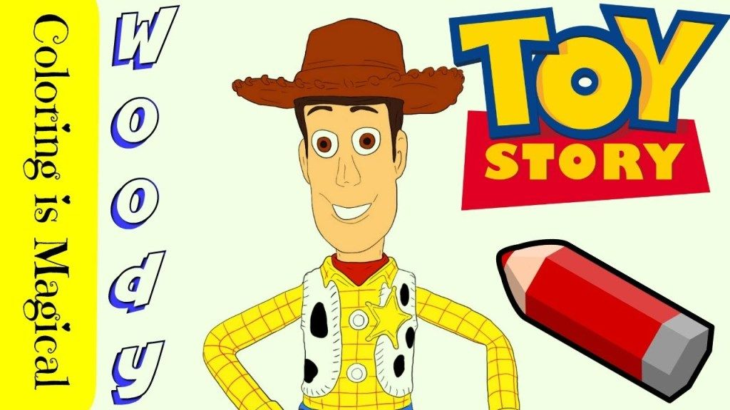 Woody From Toy Story Coloring Page Video Woody Toy Story Toy Story Coloring Pages Toy Story Videos