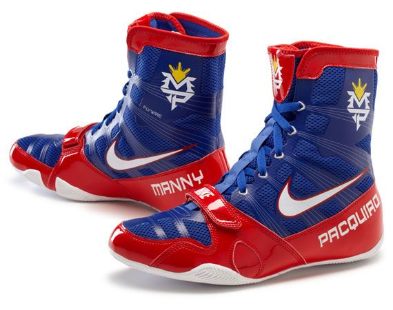 Signed Manny Pacquiao Nike Hyperko MP