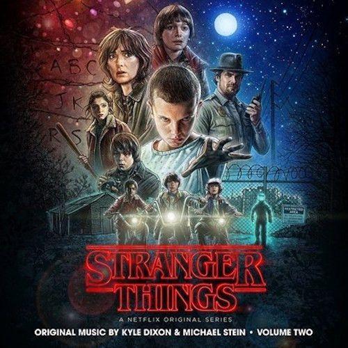 Kyle Dixon & Michael Stein - Stranger Things, Vol. 2: Soundtrack (Ltd Ed Colored Vinyl 2LP)