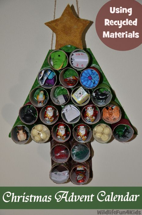 Diy Recycle Calendar : Diy advent calender using recycled materials quot sulia