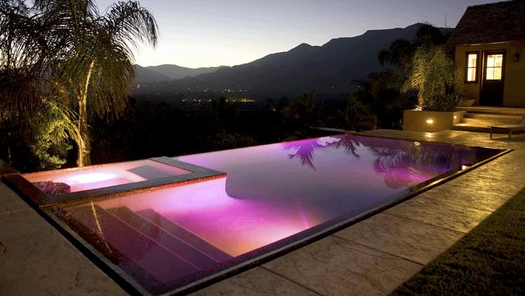 pin by kriztin on pools led pool lighting amazing on beautiful inground pool ideas why people choose bedrock inground pool id=64422