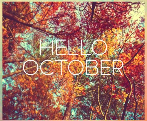 Hello October Desktop Wallpaper Fall Autumn Tumblr Fall Wallpaper