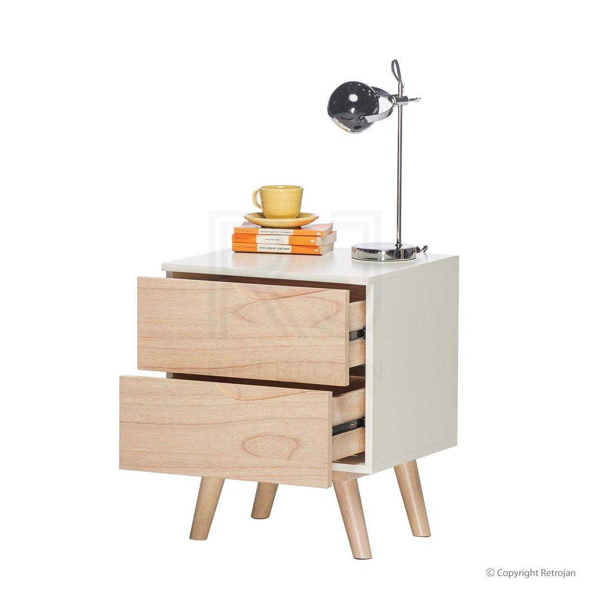 Bedside Table   Buy Eddie Scandinavian Bedside Table – Retrojan ...
