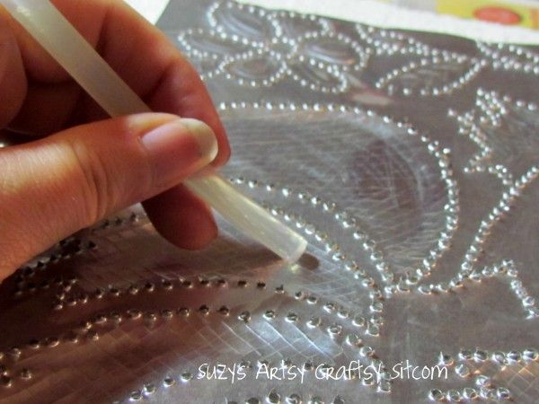 Feature Friday Faux Punched Tin Tutorial Punched Tin