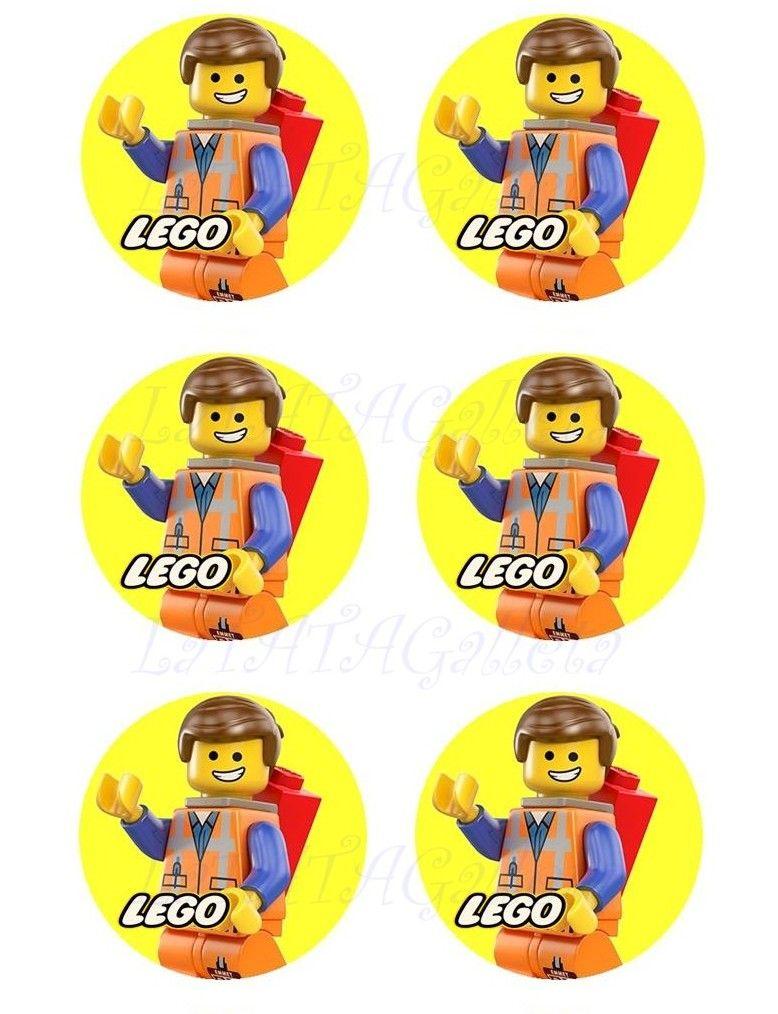 LaTATAGalleta: IMPRIMIBLES COMESTIBLES LEGO EMMET | LEGO | Pinterest ...