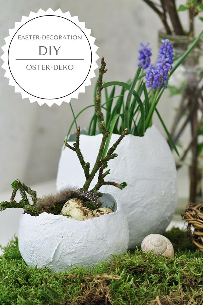 Photo of [DIY]: Deko-Eier zum Bepflanzen für den Ostertisch – Smillas Wohngefühl