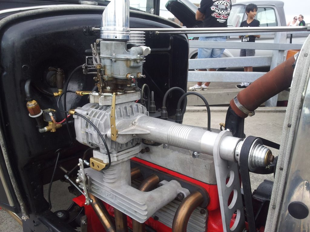 image result for blown ford flathead 4 banger [ 1024 x 768 Pixel ]