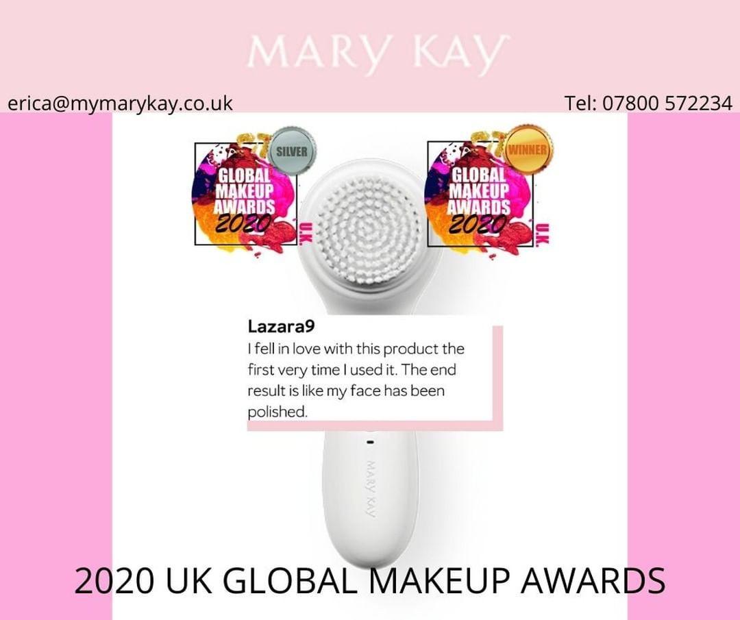 ❣️ The Mary Kay Skinvigorate Sonic Skin Care System is a double award winner in the 2020 Global Makeup Awards! 🤩 Contact me to see what all the fuss is about. 🤩  www.marykay.co.uk/ewallace/en-gb/  #MaryKayUK #SkinCare #SkinCare #scotland #aberdeen #dundee #aberdeensalon #edinburghmums #edinburghhairdresser #edinburghlife #workfromhome #aberdeenmakeupartist #makeup #glasgow #glasgowmakeupartist #glasgowmakeup #glasgowschoolofart #glasgowfashion #glasgowuniversity #aberdeen #Edinburgh #beautybus