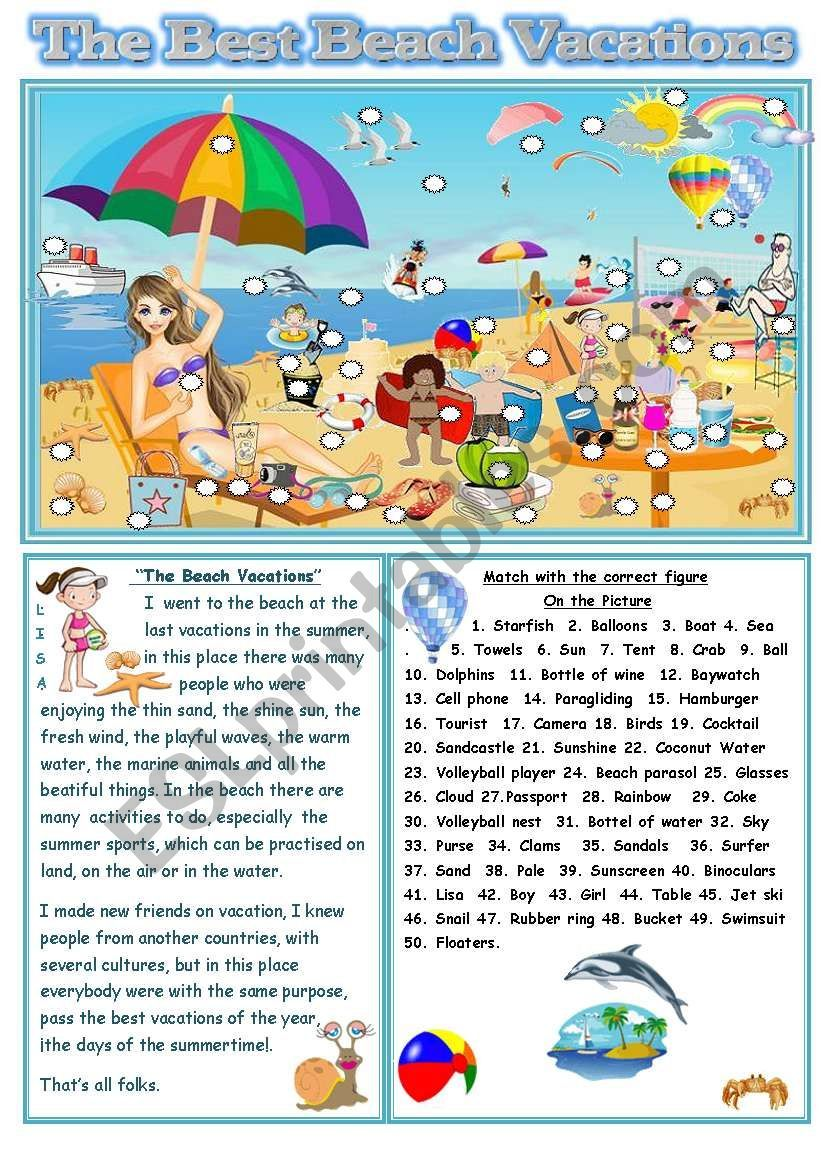 Summer Time This Worksheet Improves The Reading Comprehension And Help To Know A Holiday Reading Comprehension Summer Reading Comprehension Holiday Worksheets [ 1169 x 821 Pixel ]