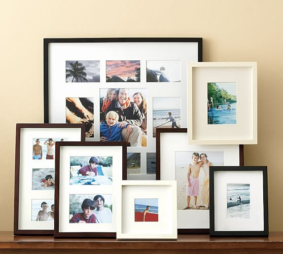 Wood Gallery Multiple Opening Frames | Pinterest | Pottery, Barn and ...