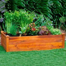 Hochbeet Klassik Rechteckig Stapelbar Akazie Garten Pinterest