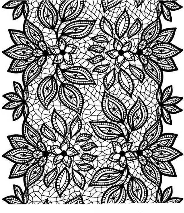 Пин от пользователя Елена на доске раскраски | Кружевной ...