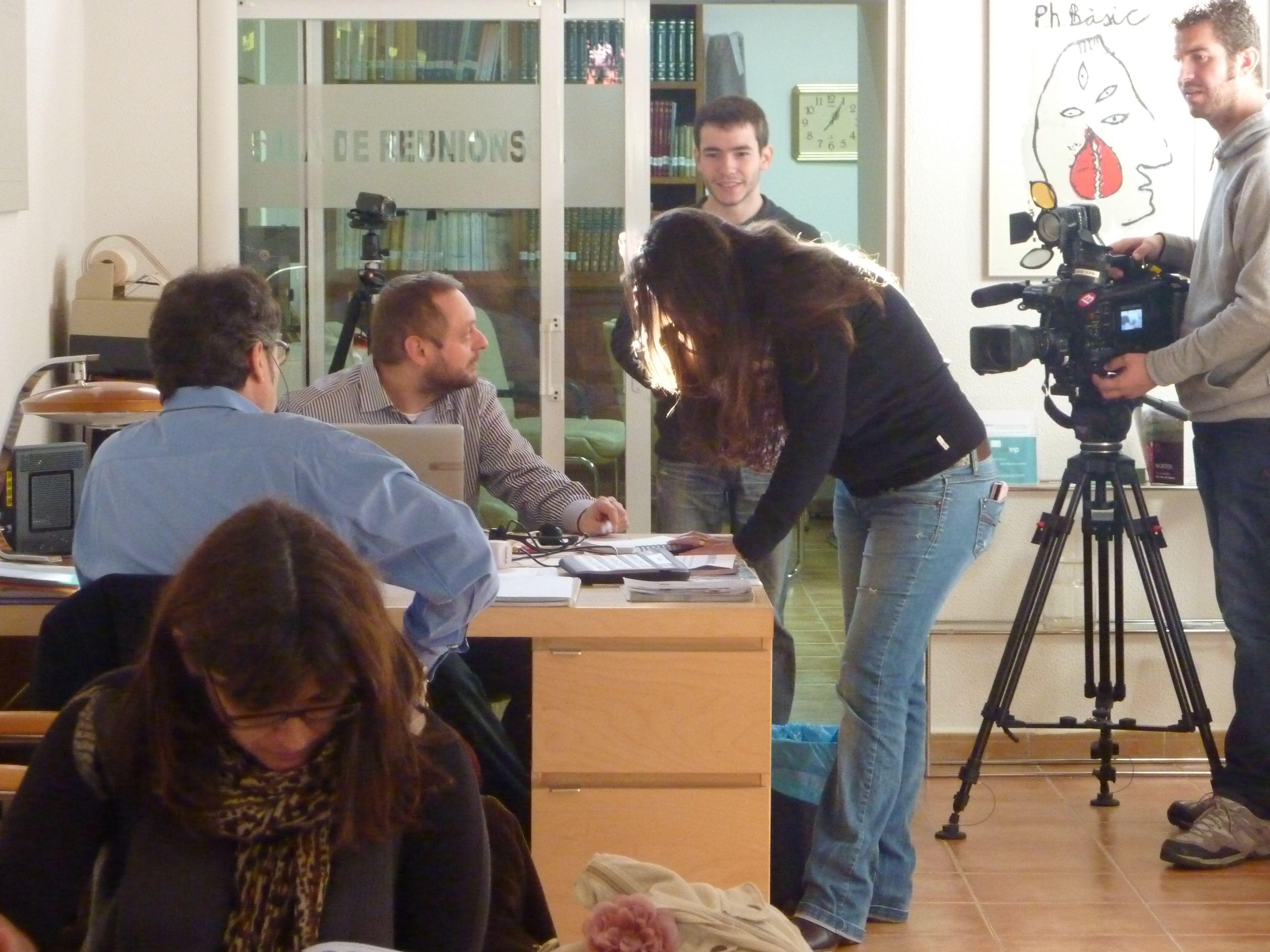 Making Of programa emprenedors IB3 Tv