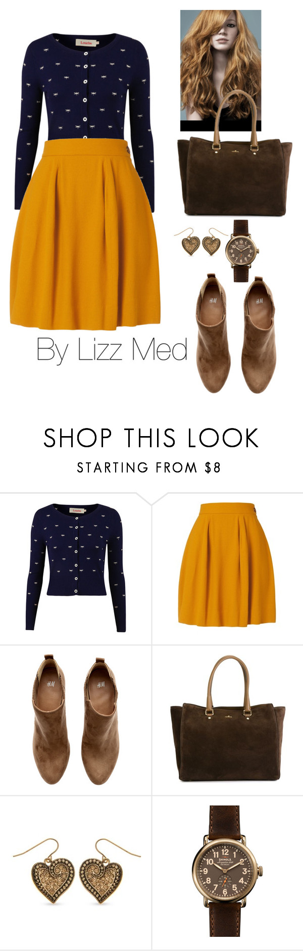 """Cool"" by lizz-med ❤ liked on Polyvore featuring Louche, H&M, Hogan, Kim Rogers and Shinola"