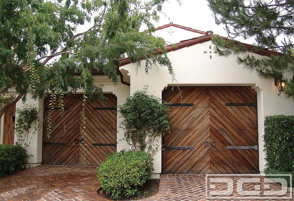 Dynamic Garage Door Custom Architectural Garage Door