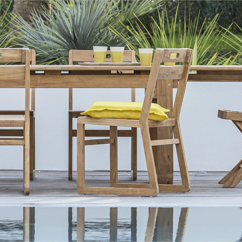 Chaise De Jardin Resort Naterial Dimensions Cm L 55 X L 44 5 X H