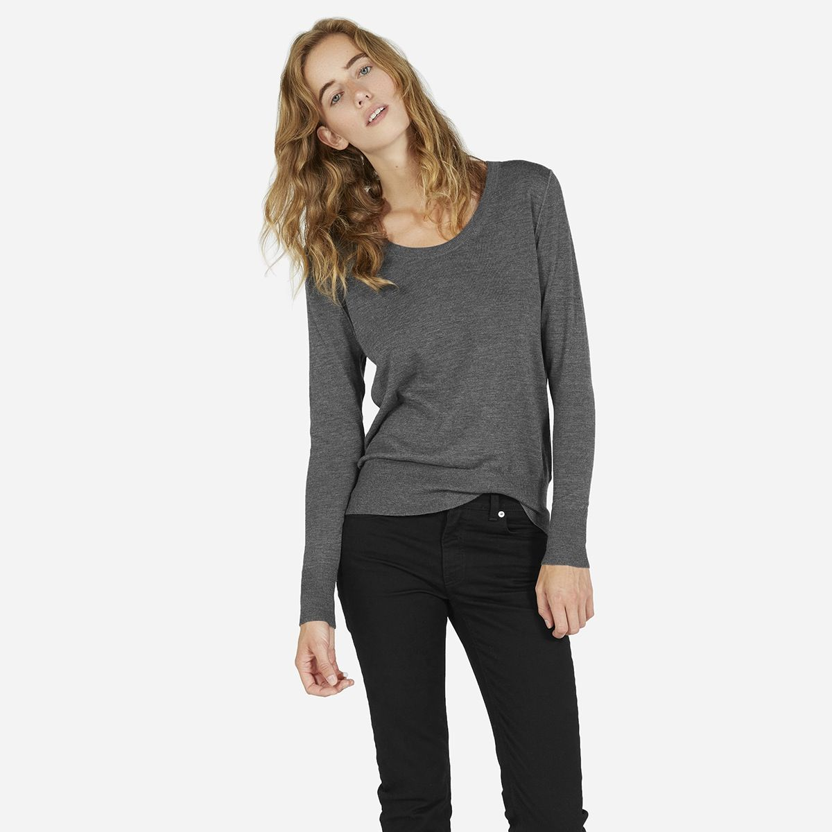 Everlane | The Luxe Sweater U-Neck