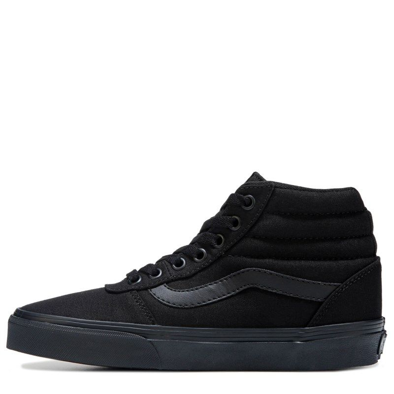 6b9525e6e77 Vans Women s Ward High Top Sneakers (Black Black) - 11.0 M ...